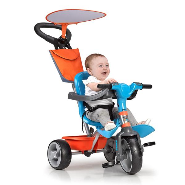 Tricycle Feber Baby Plus Music Blue Orange