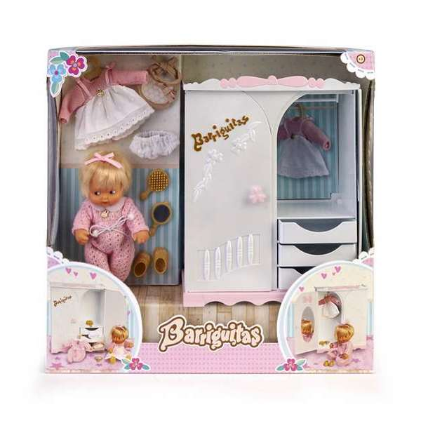 Baby Doll Famosa Barriguitas (15 cm)