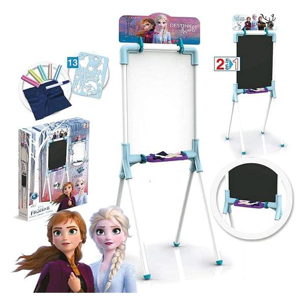 2 in 1 Board Frozen 2 Chicos (12 pcs) (37 x 32 x 98 cm)