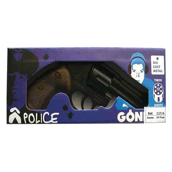 Cap Gun Police Magnum Gonher