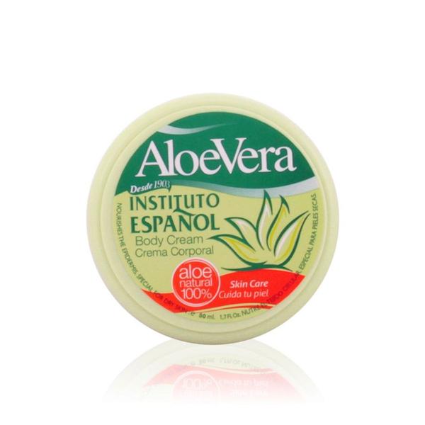 Moisturising Body Cream Aloe vera Instituto Español
