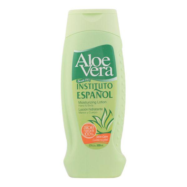 Moisturising Aloe Vera Lotion Instituto Español (500 ml)