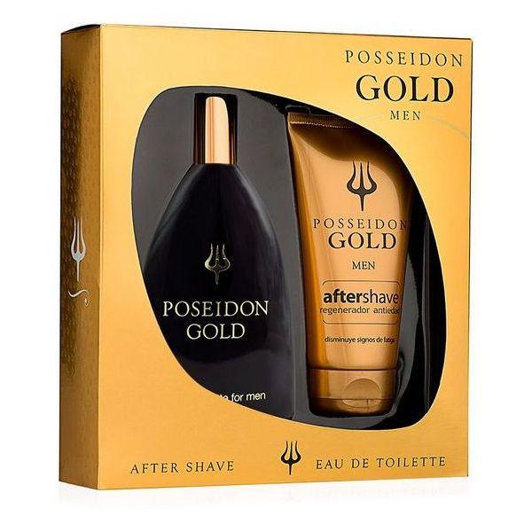 Men's Cosmetics Set Gold Posseidon (2 pcs)