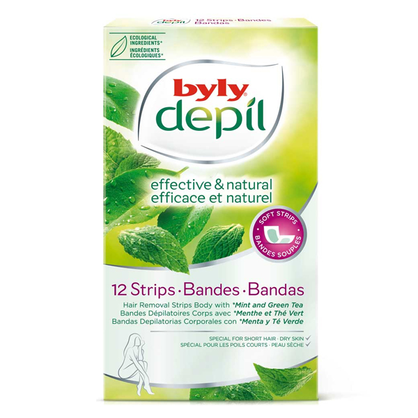 Facial Hair Removal Strips Depil Byly (12 uds)