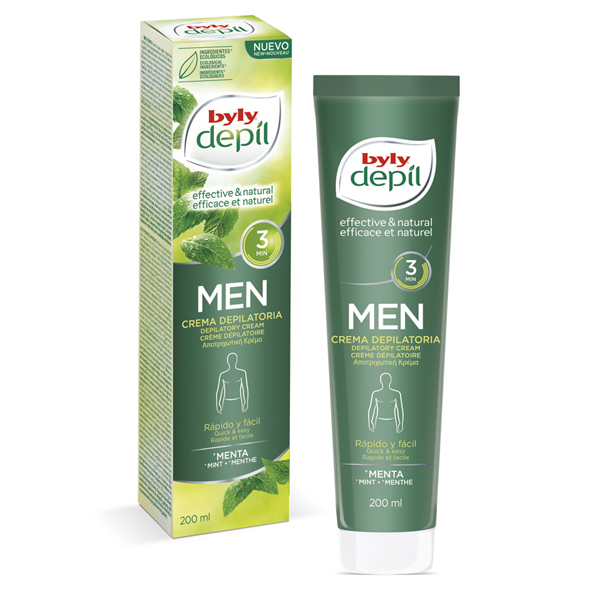 Body Hair Removal Cream DEPIL MEN Byly (200 ml)