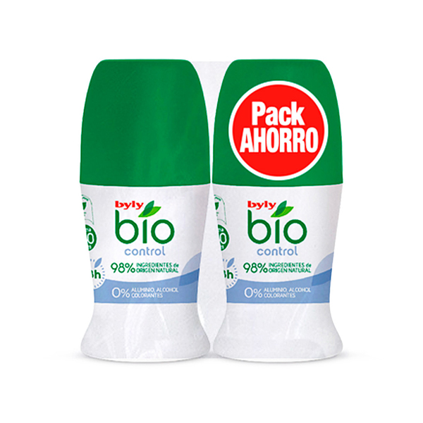 Roll-On Deodorant BIO NATURAL 0% Byly (2 pcs)
