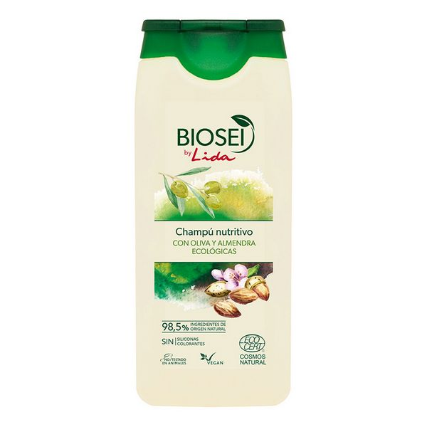 Hranljiv šampon za lase Biosei Olive & Almond Lida (500 ml)