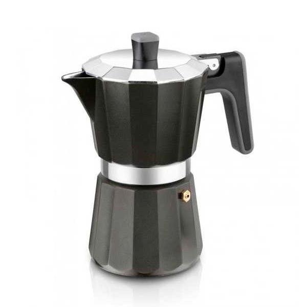 Italijanski Kuhalnik za Kavo Black Edition BRA - 6 Skodelic