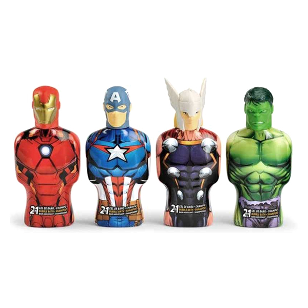 2-in-1 Gel and Shampoo Avengers Thor Cartoon (475 ml)
