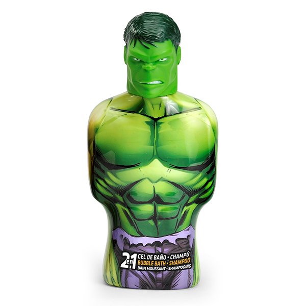 2-in-1 Gel and Shampoo Avengers Hulk Cartoon (475 ml)