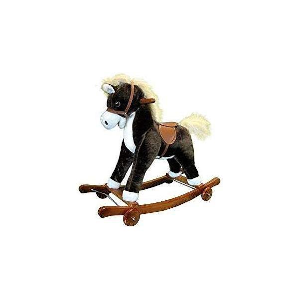 Rocking horse (74 x 63 cm)