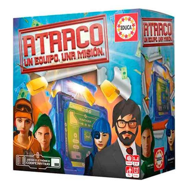 Board game Atraco Educa (ES)
