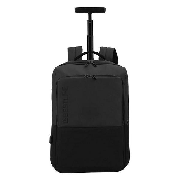 2-Wheel Laptop Trolley Black