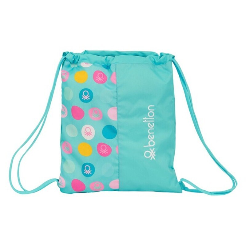 Backpack with Strings Benetton