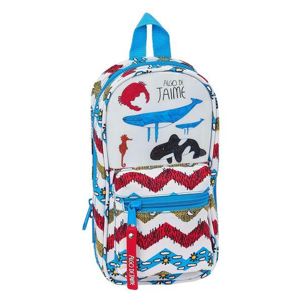Backpack Pencil Case Algo de Jaime (33 Pieces)