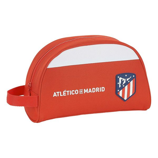 School Toilet Bag Atlético Madrid White Red