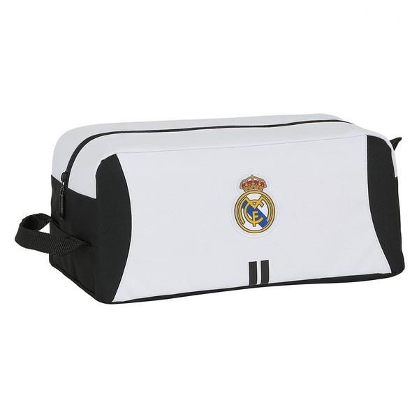 Scarpiera da Viaggio Real Madrid C.F. Bianco Nero Poliestere