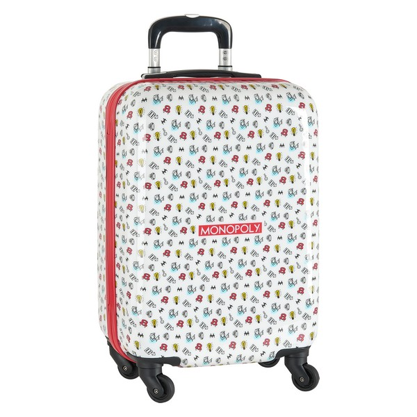Cabin suitcase Monopoly White 20''