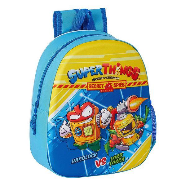 3D Child bag SuperThings Light Blue