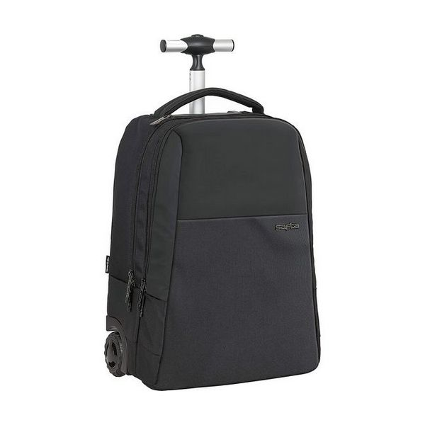 2-Wheel Laptop Trolley Safta 15,6'' Black