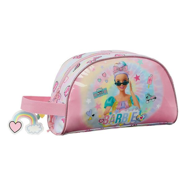 School Toilet Bag Barbie Girl Power