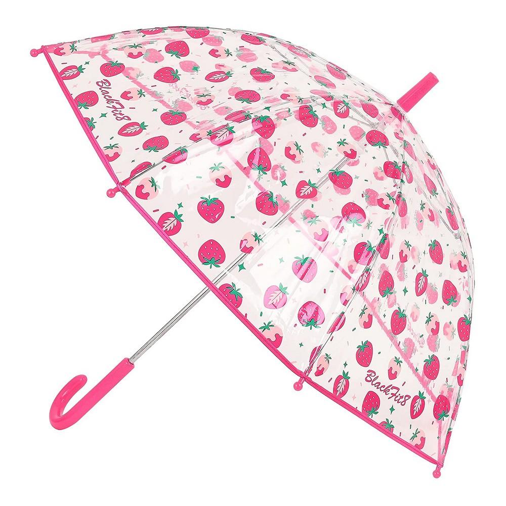 Bubble Umbrella BlackFit8 Berry Brilliant Pink Ø 76 cm