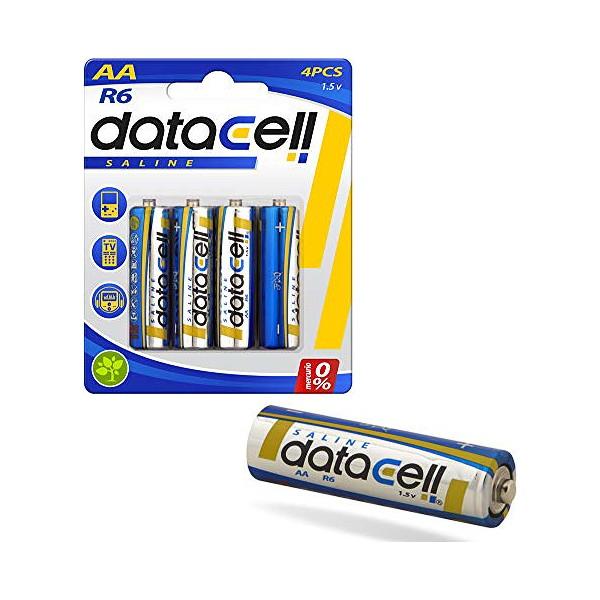 Alkaline Batteries R/6 1,5 V AA (4 uds)