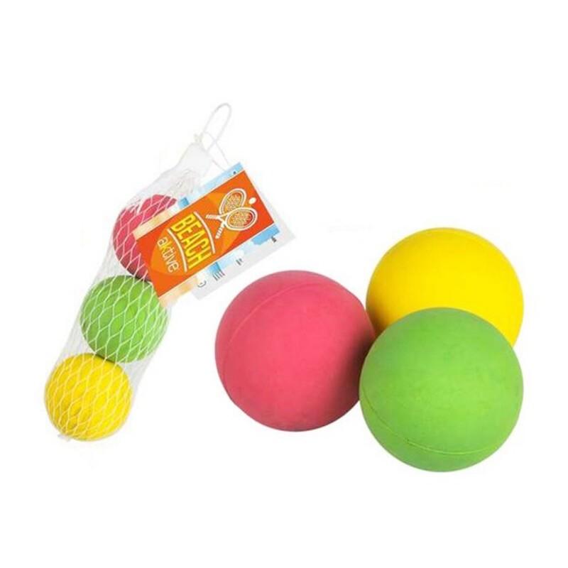 Balls for Beach Bats 47 mm Rubber (3 Uds)