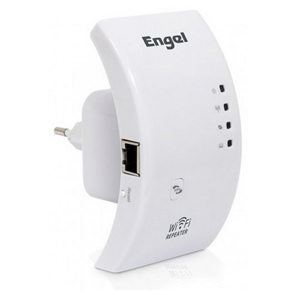 Repetidor Wifi Engel PW3000 2.4 GHz 54 MB/s Blanco