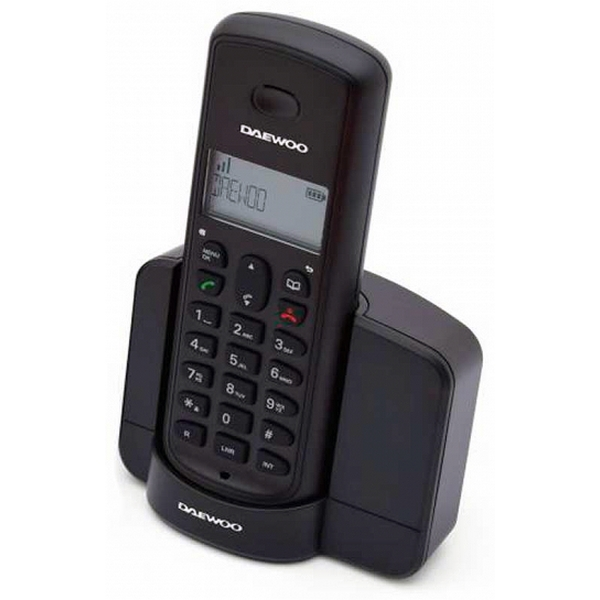 Teléfono Inalámbrico Daewoo DTD-1350 DECT DUO Negro