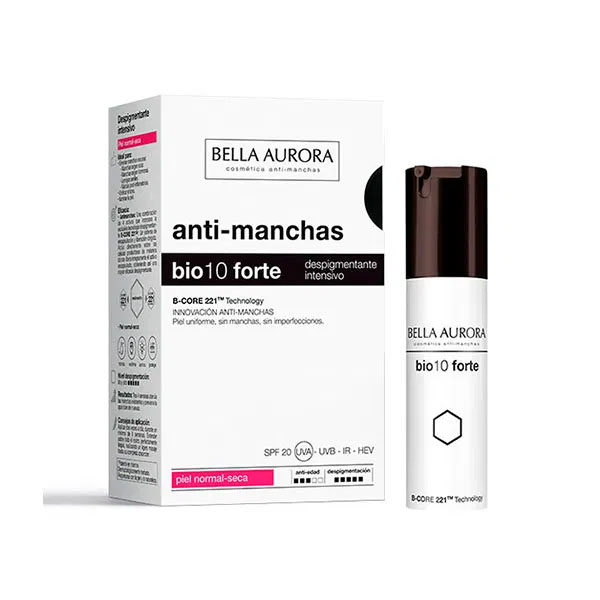 Anti-Pigment Cream Bella Aurora Bio10 Forte Combination Skin (30 ml)