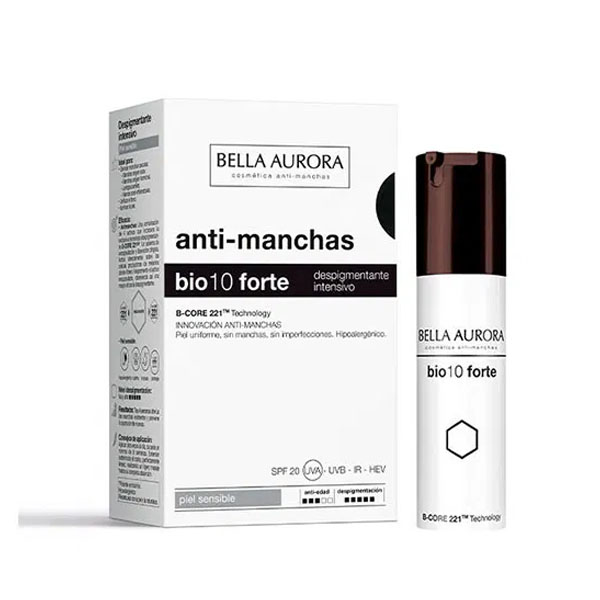 Anti-Pigment Cream Bella Aurora Bio10 Forte Sensitive skin (30 ml)