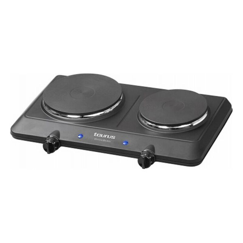Camping stove Taurus EH2250 1500W (2 Cooking Areas)