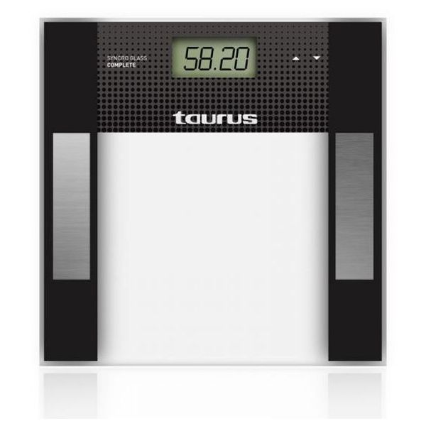 Digital Bathroom Scales Taurus Syncro Glass Complet