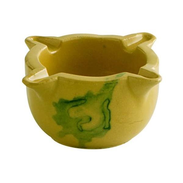 Pestle and Mortar Quid Orange Ceramic (13 x 8 cm)