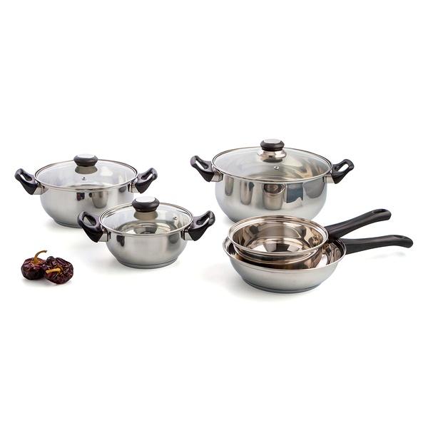 Cookware Quid Habitat Stainless steel (5 pcs)