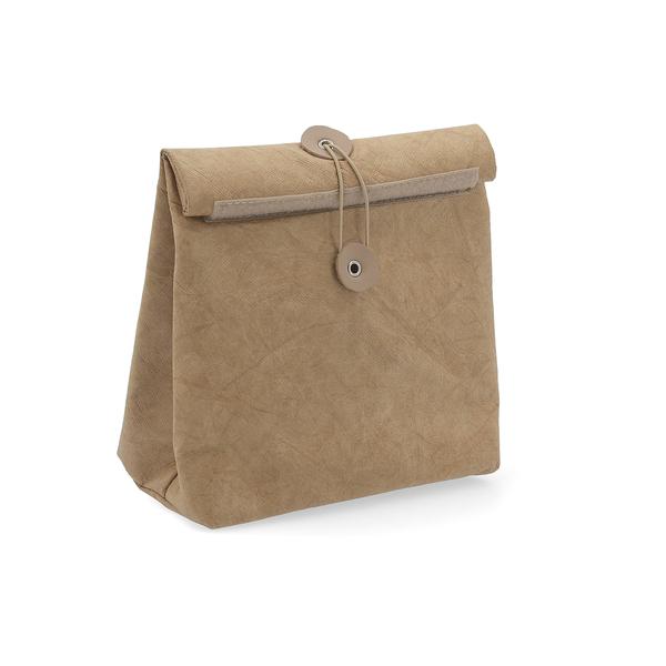 Bag Bidasoa Roll-up Brown (20 x 11 x 25 cm)