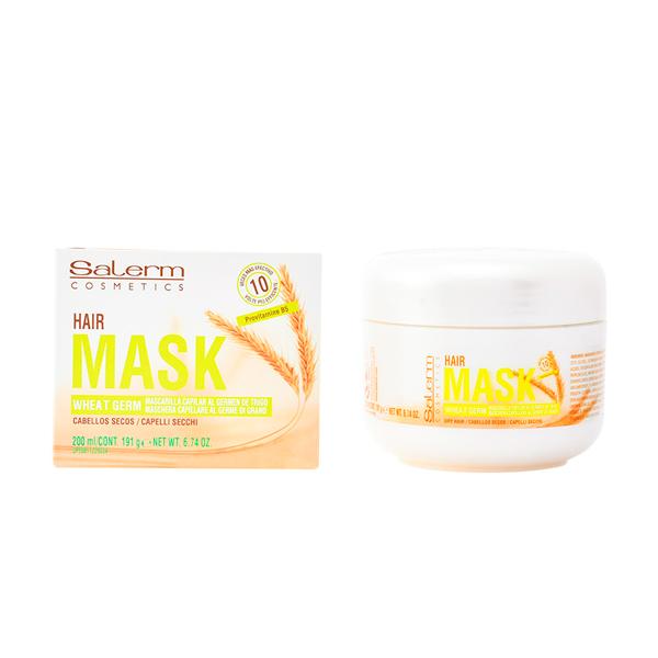 Hranljiva maska za lase Wheat Germ Salerm (200 ml)