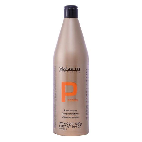 Obnovitveni šampon za lase Protein Salerm (1000 ml)