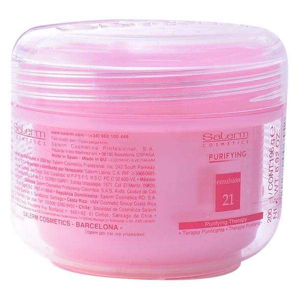 Hranljiva maska za lase Purifying Salerm (200 ml)