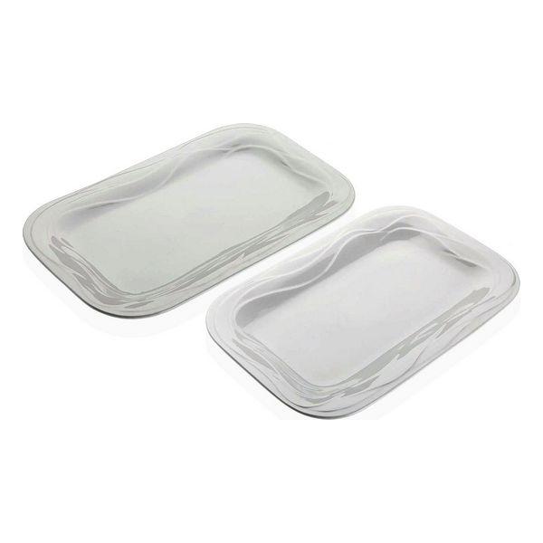 Serving Platter Corina Porcelain (2 Pieces)