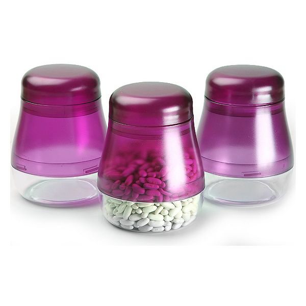 3 Tubs polypropylene