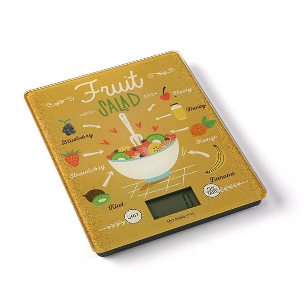 kuhinjsko tehtnico FRUIT SALAD Kaljeno steklo