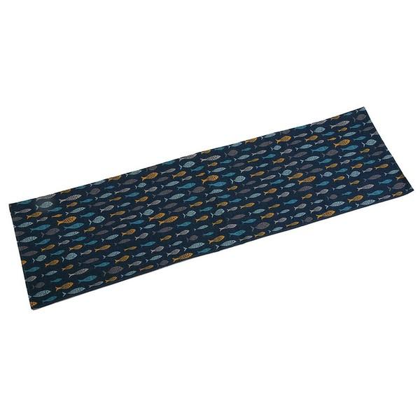 Table Runner Blue Bay Polyester (44,5 x 0,5 x 154 cm)