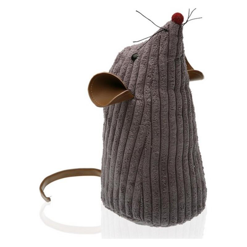 Door stop Mouse Textile (11 x 26 x 11 cm)