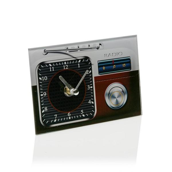 Table clock Crystal (4 x 10 x 14,5 cm)