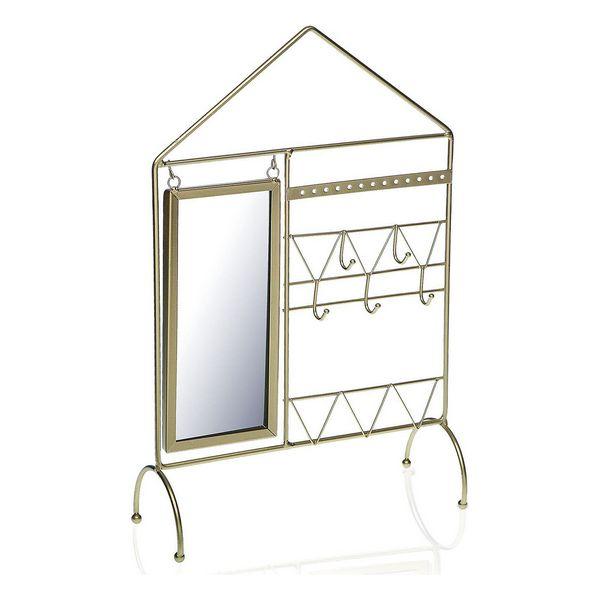 Door Hanger House Mirror Metal (9,5 x 39 x 25 cm)