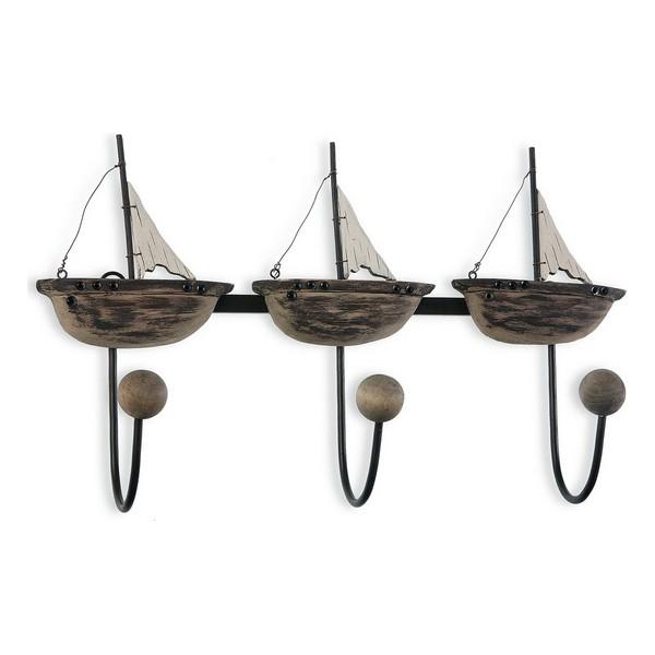 Coat rack Barcos Metal (10 x 24,5 x 40 cm)