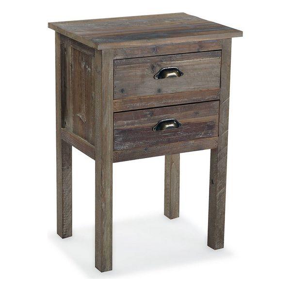 Nightstand Norm MDF Wood (36 x 71 x 48 cm)