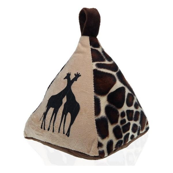 Door stop Giraffe Textile (14 x 19 x 16 cm)